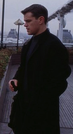 Matt Damon as Jason Bourne in <em>The Bourne Identity</em> (2002).
