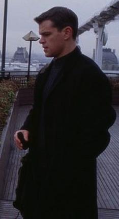 Matt Damon as Jason Bourne in <em>The Bourne Identity</em> (2002).