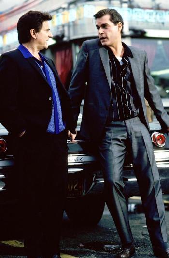 Joe Pesci and Ray Liotta in Goodfellas (1990)