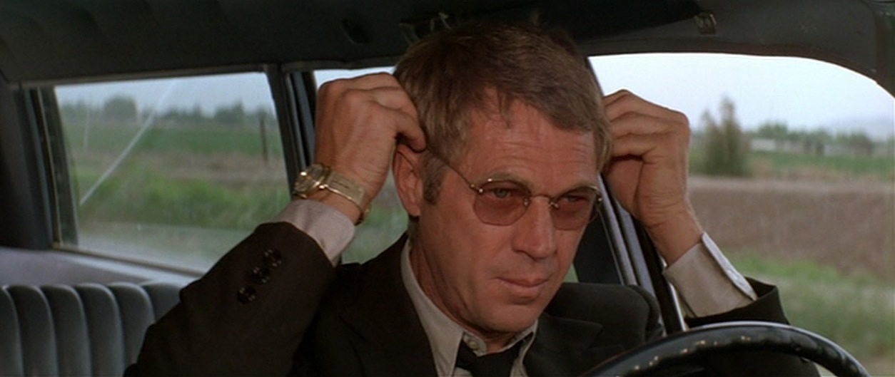Steve Mcqueen Robs A Bank In The Getaway Bamf Style