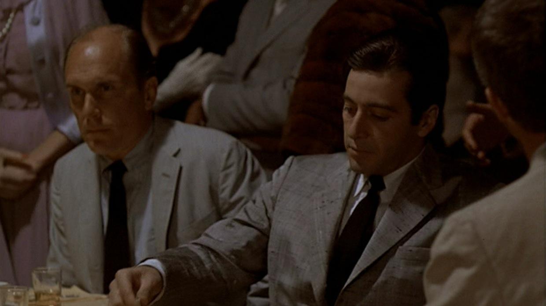 Michael Corleone at His Son's Communion | BAMF Style