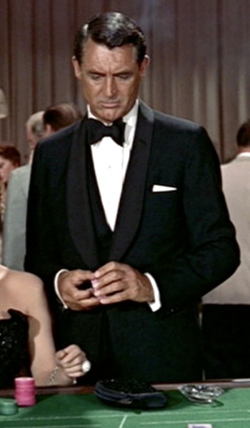 Cary Grant as John Robie in To Catch a Thief (1955)