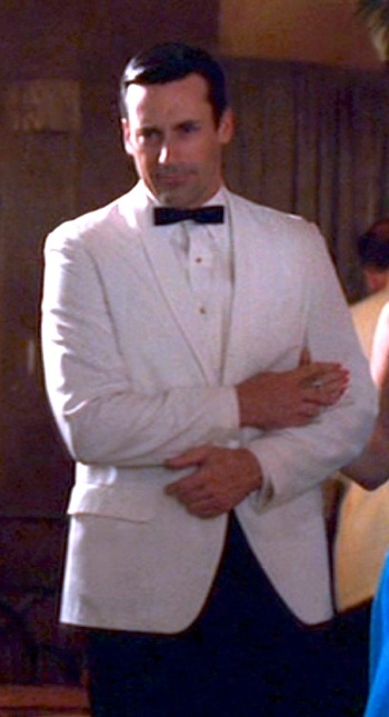 "Jon Hamm as Don Draper on Mad Men (Episode: ""The Gold Violin"")"