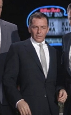 Frank Sinatra as Danny Ocean in 1960's Ocean's Eleven.