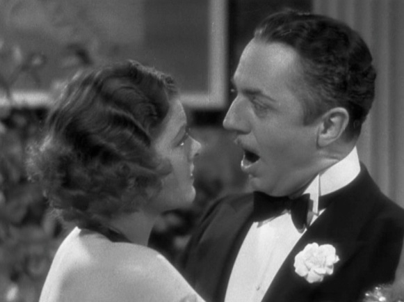 Only a woman like Myrna Loy could make even William Powell speechless.