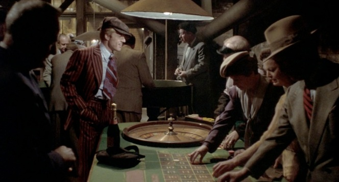 Nothing says romance like underground roulette.