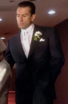 "Robert De Niro as Sam ""Ace"" Rothstein in Casino."