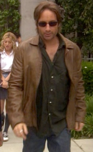 David Duchovny as Hank Moody in the fifth episode of Californication.