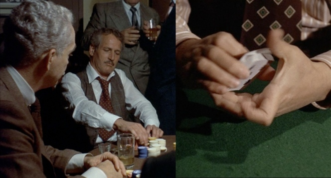 paul newman plays poker