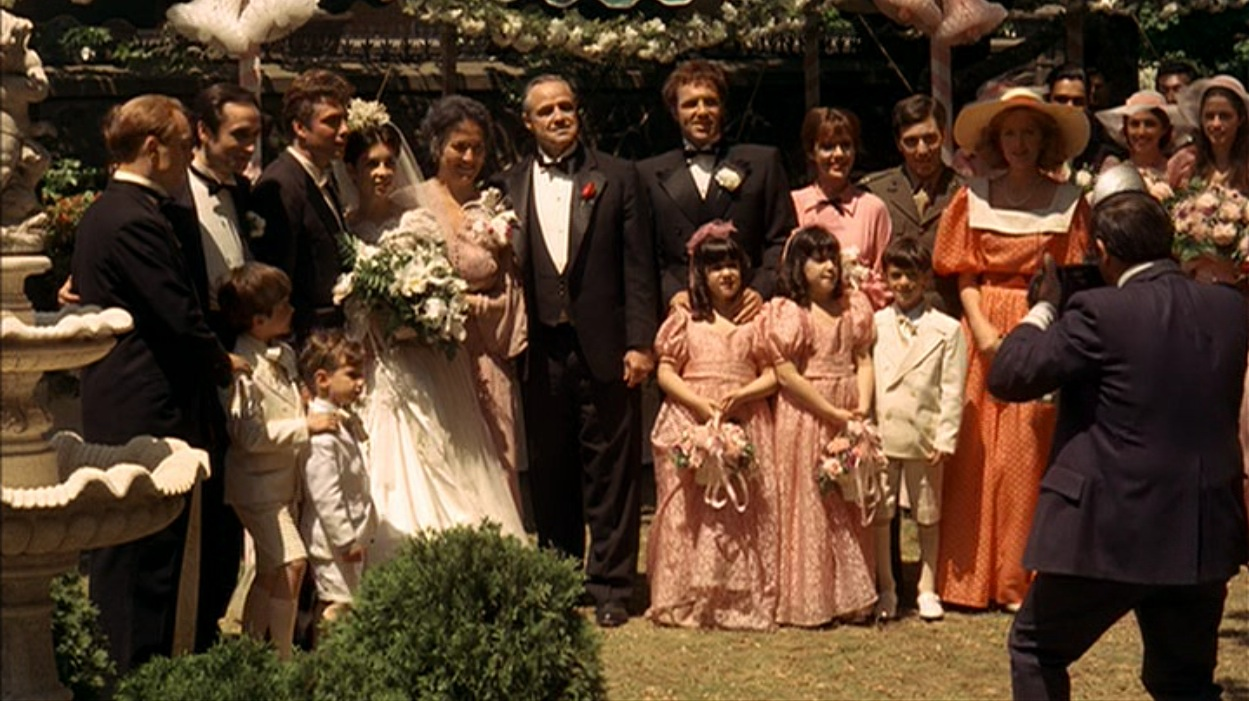 Don Corleone At His Daughter S Wedding Bamf Style