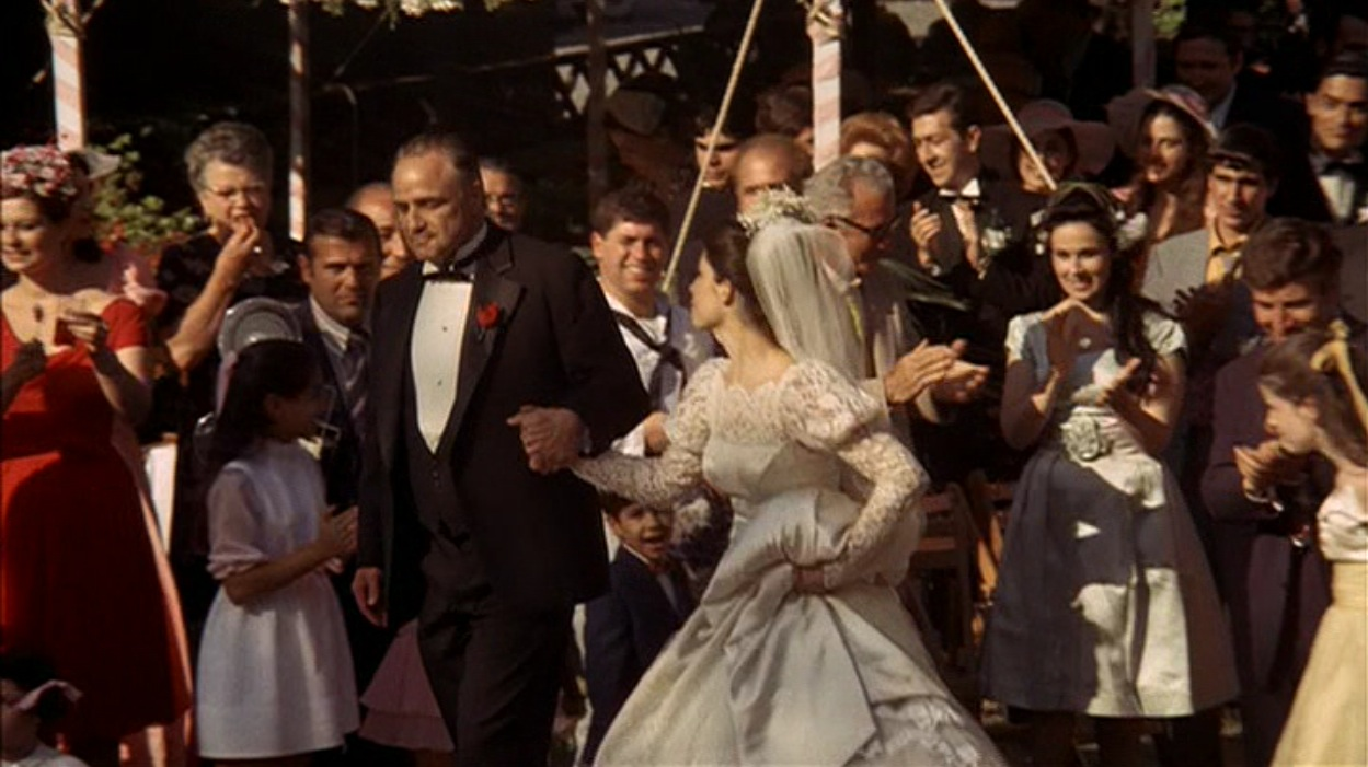 Don Corleone At His Daughter's Wedding