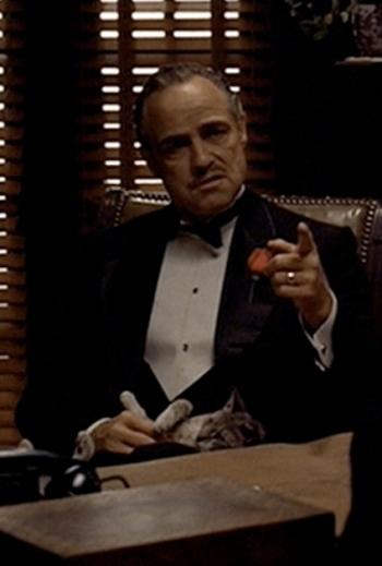 Marlon Brando as Vito Corleone in The Godfather (1972)