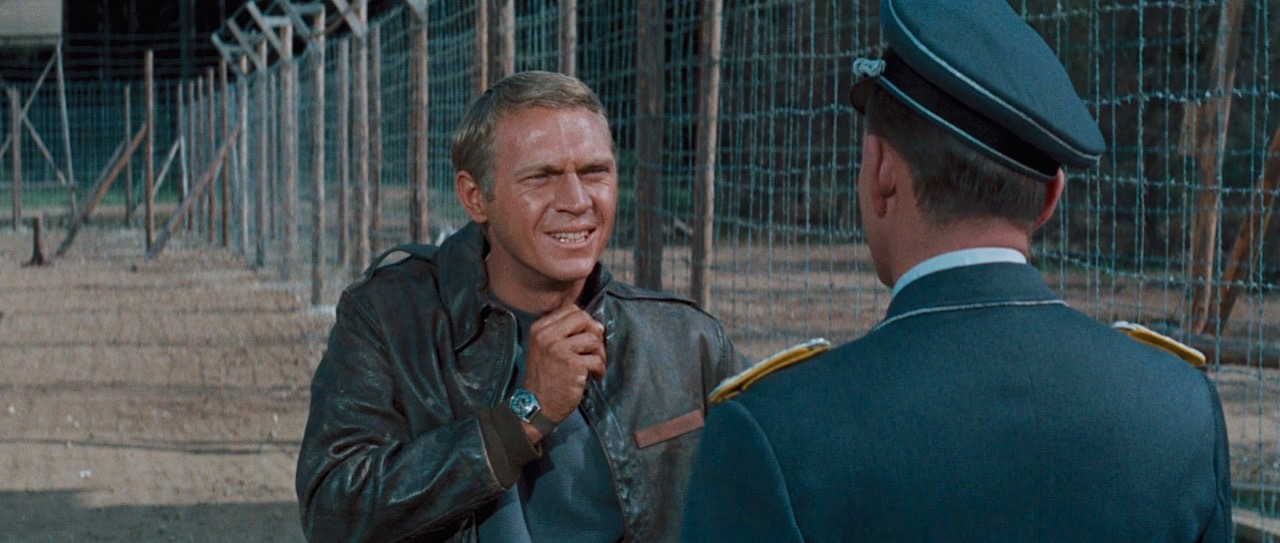 Hilts in The Great Escape | BAMF Style