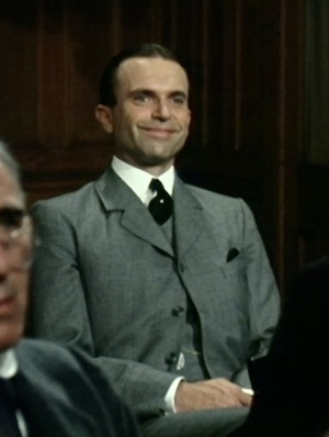 "Sam Neill as Sidney Reilly in ""An Affair With A Married Woman"", the first episode of Reilly: Ace of Spies."