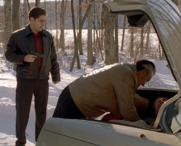 Should've taken a few lessons from Goodfellas about what to do when a live body is in your trunk...