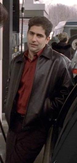 "Michael Imperioli as Christopher Moltisanti in ""Pine Barrens"", the eleventh episode of the third season of The Sopranos."