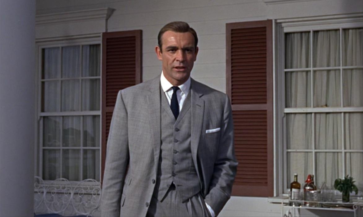 Sean Connery James Bond Grey Suit