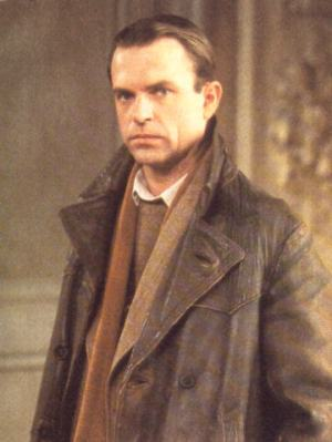 Sam Neill as Sidney Reilly in the seventh episode of Reilly: Ace of Spies.