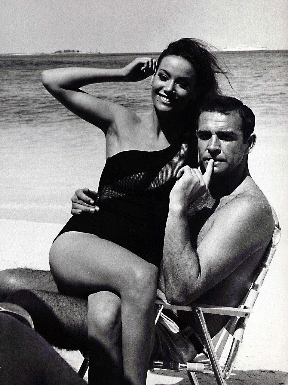 Bond Hits the Beach in Thunderball   BAMF Style Rosetta Lenoire
