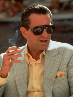 "Robert De Niro as ""Ace"" Rothstein in Casino."