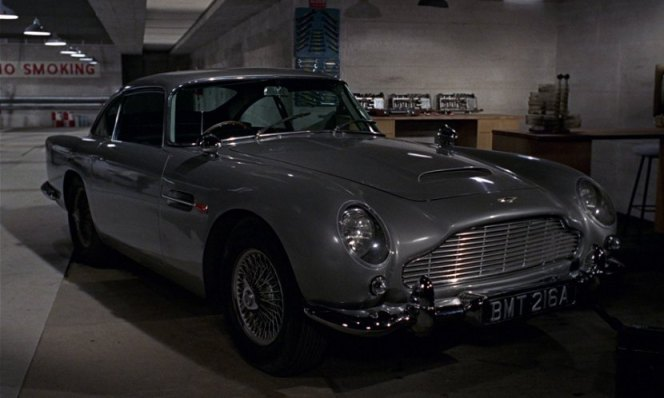MI6 gives this to Bond as a company car. At your company, you're lucky if you get anything nicer than a '99 Sebring.