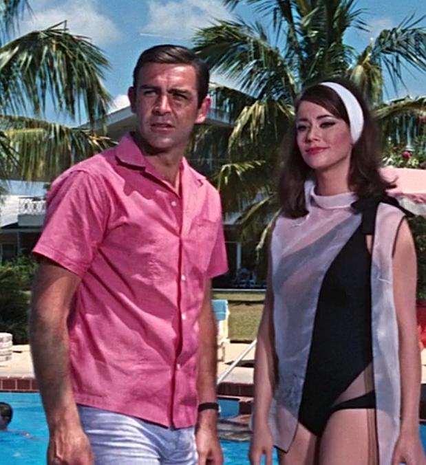 Bond Hits the Beach in Thunderball | BAMF Style