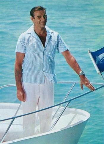 Sean Connery as James Bond in Thunderball (1965)
