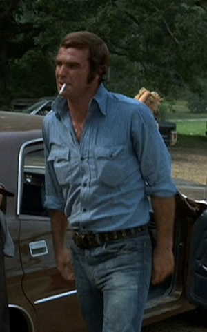 "Burt Reynolds as ""Gator"" McKlusky in White Lightning."