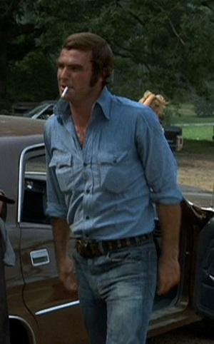 "Burt Reynolds as ""Gator"" McKlusky in White Lightning."