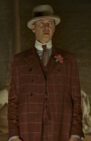 "Steve Buscemi as ""Nucky"" Thompson in ""The Emerald City"", episode 1.10 of Boardwalk Empire."