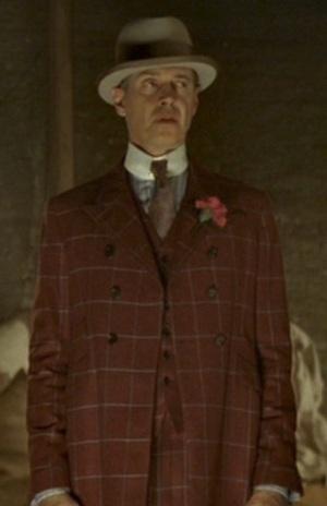 "Steve Buscemi as ""Nucky"" Thompson in ""The Emerald City"", episode 1.10 of Boardwalk Empire."