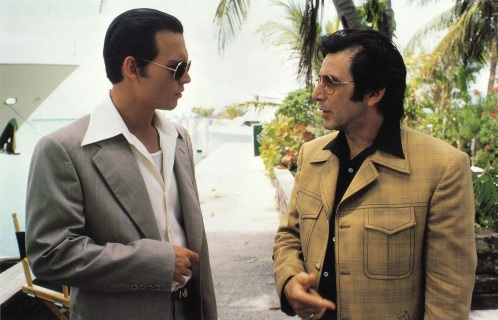 An example of costumes saying a lot about their characters. Lefty's leisure suits may been the height of mid-'70s fashion, but are not nearly as timeless as Pistone's suit.