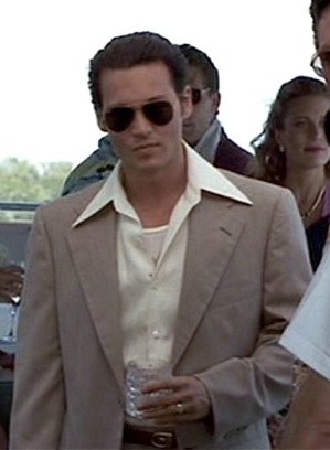 Johnny Depp as Joe Pistone in Donnie Brasco.