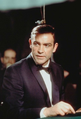 Sean Connery as James Bond in Thunderball.