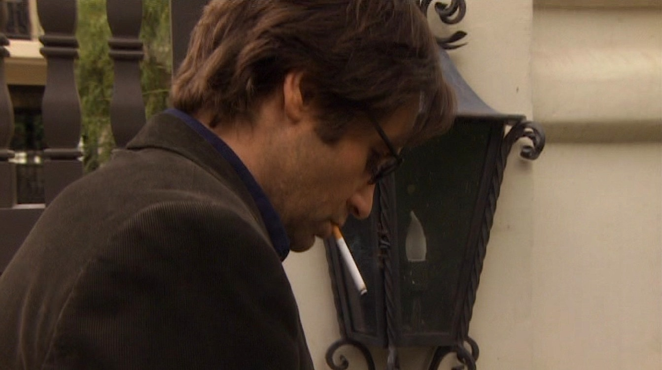 Californication Hank Wears Blue In Season 2 Bamf Style