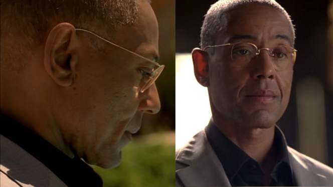 Gus's glasses are simple, practical, and quietly elegant.