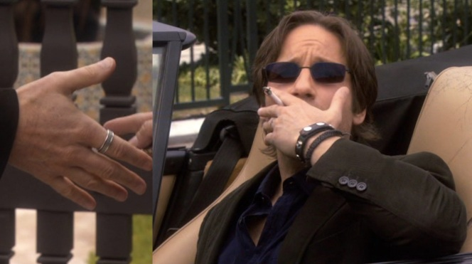 Hank's accessories and bad habits are all back in full force for the second season.