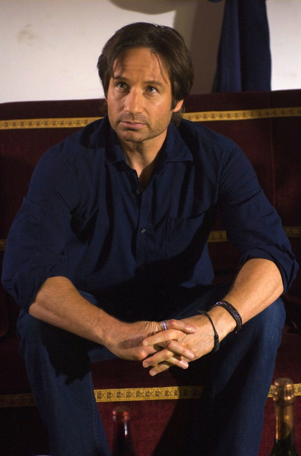 Californication Hank Wears Blue In Season 2 Bamf Style