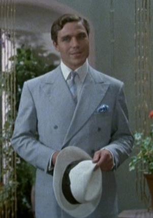 Nicholas Clay as Patrick Redfern in Evil Under the Sun.