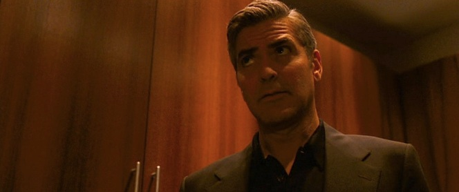 Clooney struggles to remember the time he played Batman with nipples on the Batsuit.