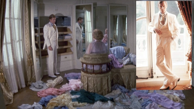Now what poor bastard has to clean this room up? Also, why did the filmmakers put Redford through so many awkward poses for the production photos? Is his right arm even resting on anything there?