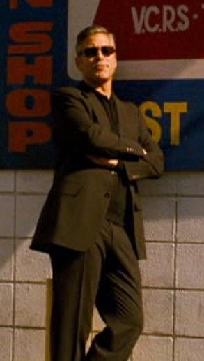 George Clooney as Danny Ocean in Ocean's Thirteen.