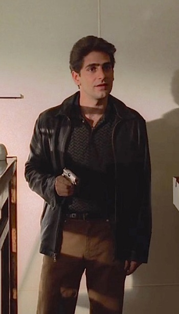 """Michael Imperioli as Christopher Moltisanti on The Sopranos (Episode 1.08: """"The Legend of Tennessee Moltisanti"""")"""