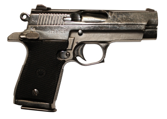 The exact Star Firestar M-43 used on The Sopranos, tracked down by The Golden Closet and IMFDB. The latter is a great resource for finding guns used in TV and movies.