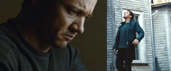 Bourne's thermal T during moments of introspection and action.