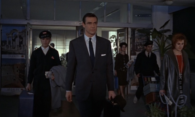 If you're really into making an entrance, see if you can pay the airport to play The James Bond Theme as you disembark.
