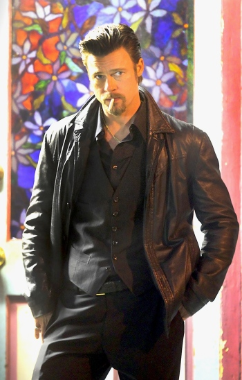 Brad Pitt as Jackie Cogan in Killing Them Softly.