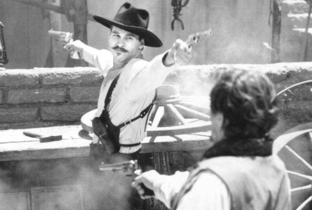 Doc Holliday Val Kilmer Wallpaper Val kilmer as doc holliday in