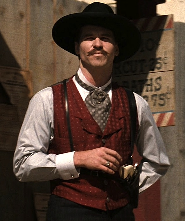 "Doc Holliday Val Kilmer Wallpaper Val kilmer as ""doc"" holliday"