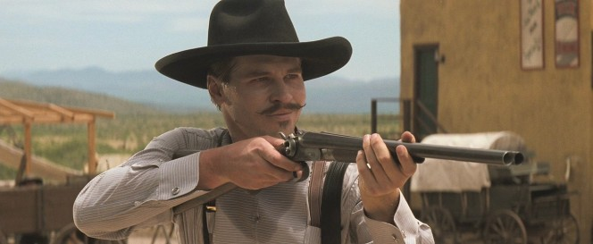 A black hat, a mustache, and a shotgun. Badassery lvl Azn.